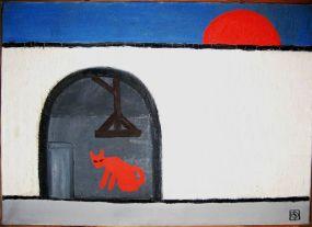 Szemadám György:  A vörös macska